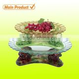 2014 item! wholesale transparent round glass soap dish