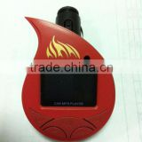 Fashion design Instructions Car MP3 Player USB with FM Transmitter Support SD/MMC/Flash Disk