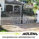 decorative home security Wrought Metal Gates/Iron Gate Driveway Gate Garden Gate