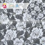 Nylon polyester stretch embroidered pattern high quality super tulle fabric for accessories