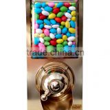 Hot Selling Bulk Sweet Candy Dispenser, Dispensers for Dry Foods, Snack Dispenser Silos, Chocolate Topping Dispensers DRJ50