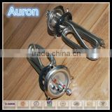 AURON/HEATWELL stainless steel flange sealed heat element /portable water heater heating tube/stainless steel home heater