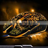 High quality 2500DPI computer gaming mouse,laser game mouse with Changeable colorful breath lamp Gaming Mouse