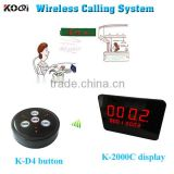 Wireless Calling System KOQI Factory Restaurant Buzzer Service Call Waiter Customer Service Bell Table Call Bell Catering Call