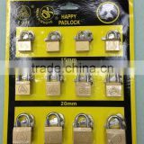 High Security Beam Wrapped Iron Padlock/A.R.C. Half Beam Wrapped Padlock/Oval Wrapped Beam Padlock