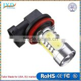 H11 7.5W High Power COB LED Bulb Car Auto Light Source Projector DRL Driving Fog Headlight Lamp Xenon White DC12V