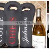 Hot selling neoprene single wine glass bottle cover                                                                         Quality Choice