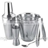 2015 Best Selling Stainless Steel Cocktail Set/cocktail shaker stainless steel/16oz joyshaker shaker bottle