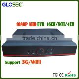 New 8CH AHD DVR hd dvr watch driver download 8 ch wifi&onvif ip camera ahd camera support