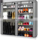 Hot sale large capacity diy dustproof protable shoe closet