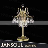 chinese magnifying hot selling antique gold glass bedside edison table lamp crystal ball chandelier