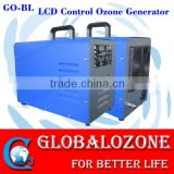 Colorful portable corona discharge ozone generator ozone generator with LCD control panel