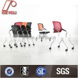Plastic stacking chair, folding plastic chair with wheel, folding chairs with arms DU-0719