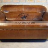 Two Seater Leather Sofa ,Vintage industrial Furniture jodhpur ,