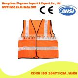 Driver Safety Jacket Reflective Vest For Running Or Cycling Traffic Industrial Working Safety Clothing