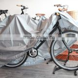 Hot sell promotional silk-screen logo polyester nylon pvc saddle cover bicycle waterproof cover