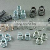 Metal spiral tower spring