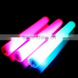 Display package light up foam stick