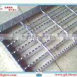 Factory direct wholesale hot-dipped galvanized serrated steel grating for walkway (Guangzhou Manufacturer)