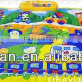 baby music play mat, transportation