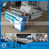 high quality paper slitting and rewinding machine, toilet tissue paper processing machine