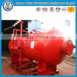 1000L--- 3000L Pressure type foam bladder tank vertical type for firefighting equipment made in weite