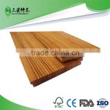 Bamboo garden decking flooring covering Corrugated floor outdoor