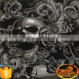 Unmatched Quality Dazzle Graphic DGJJ836 Devil Skull Hydro Dipping Film Sale Water Transfer Printing Film Hydrographics                                                                         Quality Choice