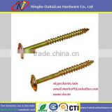 double sided Type 17 wood screw self cutting thread