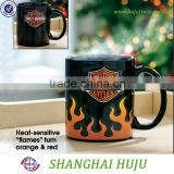 Color changing coffee cramic mug cup hot on sell