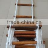 Marine Emergency Climbing Wooden Rope Ladder