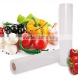 Vacuum embossed roll and bags for food