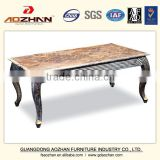 New classic Living Room hotel Furniture marble top Coffee Table center table