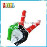 Promotional Customized Advertising PVC Cheering Inflatable Hand Inflatable Giant Second Hand