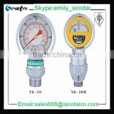 oil well used YK Series shock resistant Mud Pump Gauge