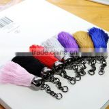 Small Size Mix Color Silk Cotton Tassel Charm Pendant Fit Various Jewelry