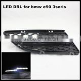 LED DRL for BMW E90 328i 320i 323i 325i 330i 2010~2012 3 series Daytime Running Light front bumper cover lamp
