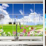 china wholesale Kitchen tile decals wall stickers, kitchen wall tile stickers extra thicker