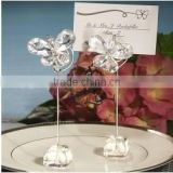 Wedding favor Exquisite Crystal Butterfly Place Card Holders