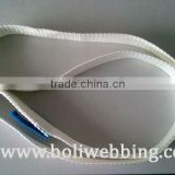 industrial polyester material Endless Sling / white color endless webbing sling / Safety factor 7:1 / lifting endless sling