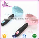 Self Cleaning Brush for dogs and cats, Reduces Pet Shedding by More than 90%, the Deshedding Tool by Blitzby Pets