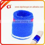 High Quality Blue Sport Wristband Sweatband