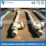 Small flexible LSY219 ash jacketed screw grain auger conveyor system