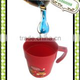 Plastic drinking cup water cup PP cup promotion kids cup plastic mug LX880008