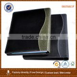 manufacture provide and wholesale metal 3 ring binder file folder, crocodile grain conference folder