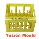plastic beer bottle turnover storage box Mould