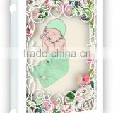 beautiful paper laser cutting baby born creative birthday cards