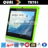 Cheapest dual core 7 tablet pc mid q88 Allwinner A23 Dual Core android tablet pc with latest Android 4.4 Q