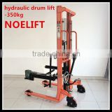 Hydraulic Drum Lifting Stacker with Manual Tilting