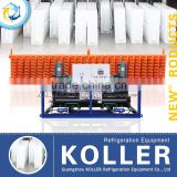 Koller large capacity ice block making machine 10 TPD with stainless steel ice mould MB100